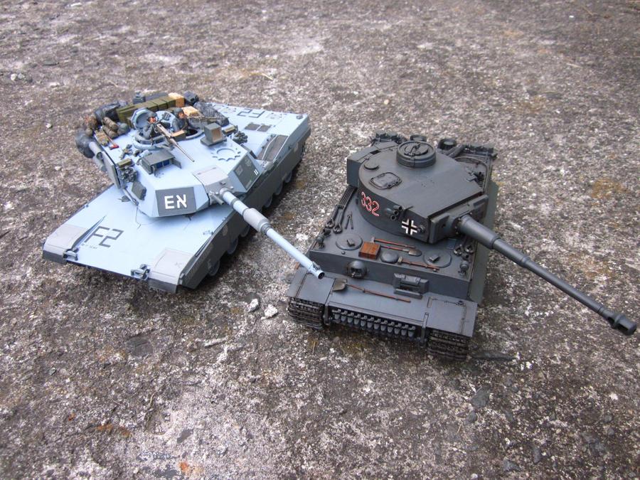 abrams tank vs tiger - photo #1