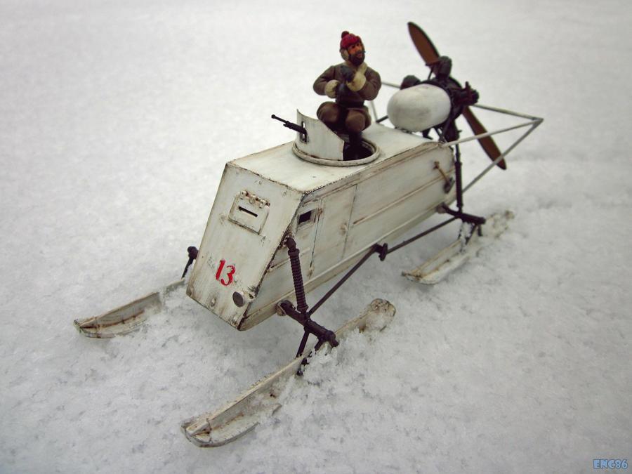 Soviet Armored Aerosani by enc86