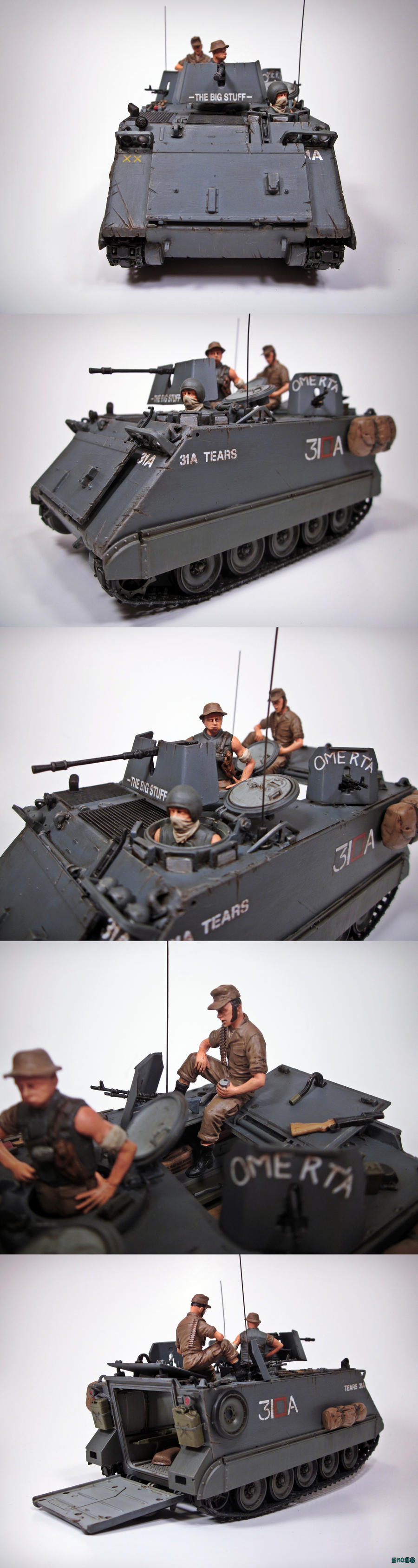 M113 Collage by enc86