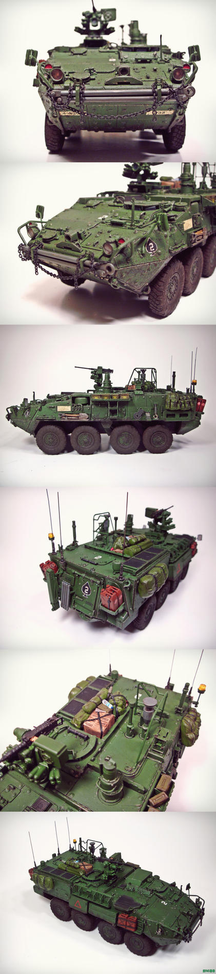 Stryker Collage by enc86