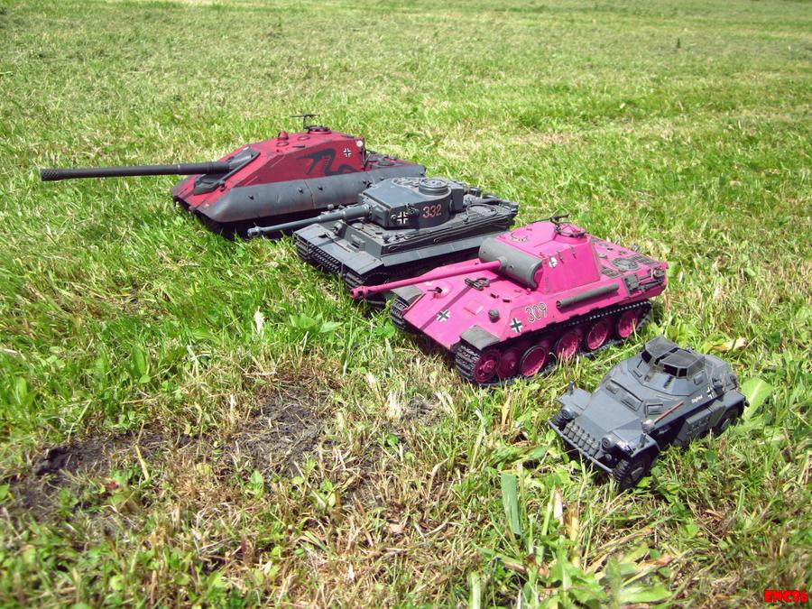 German Armor size comparison by enc86