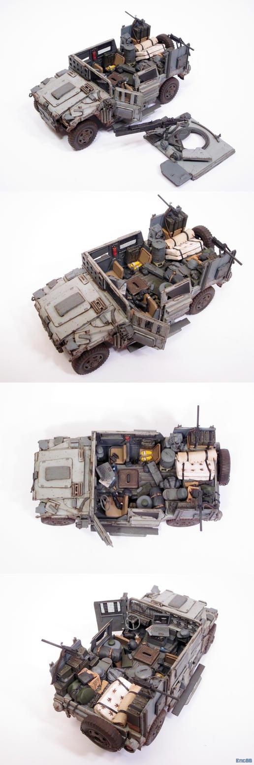 Freki Battlewagon Interior by enc86