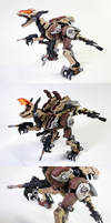 Zoid Gun Sniper Custom Collage