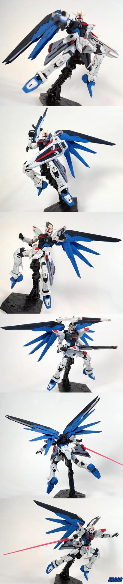Freedom Gundam by enc86