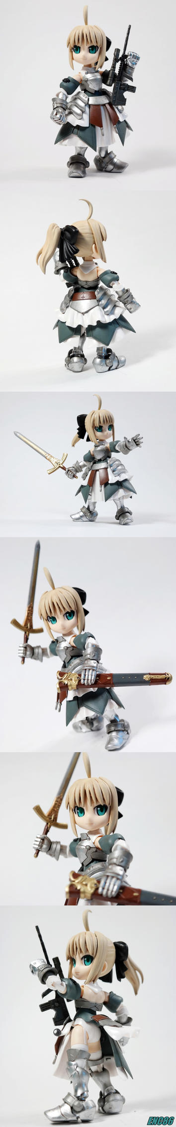 Saber Lily by enc86