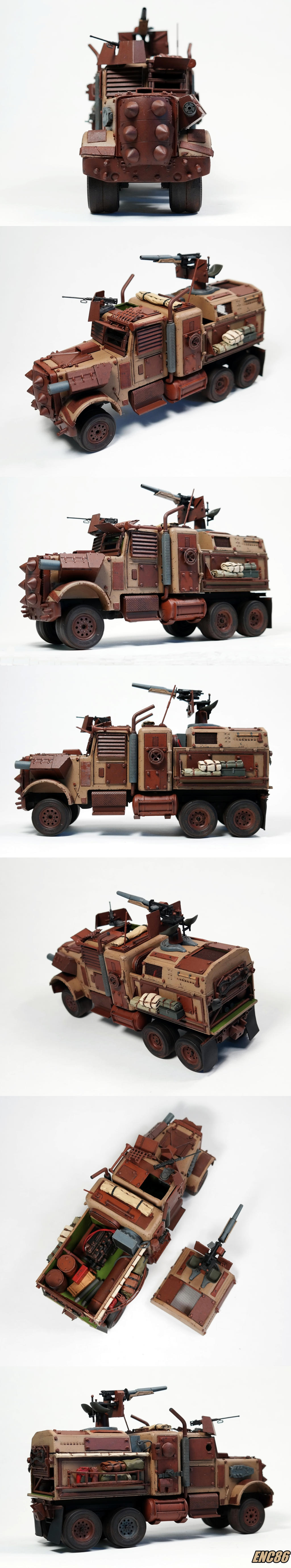 Death Rig Collage by enc86