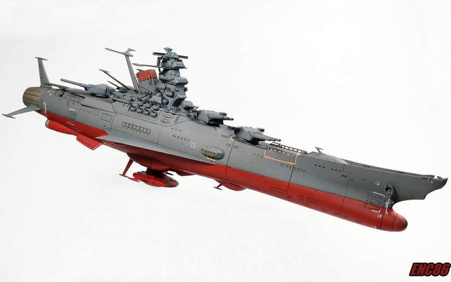 Space Battleship Yamato by enc86