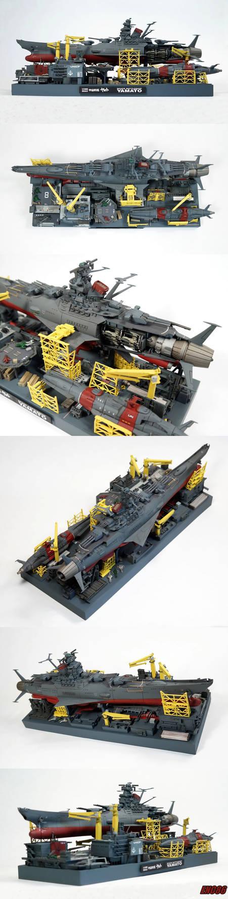 Yamato Dry Dock Collage