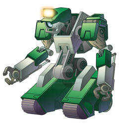 Advanced Mining Droid colored