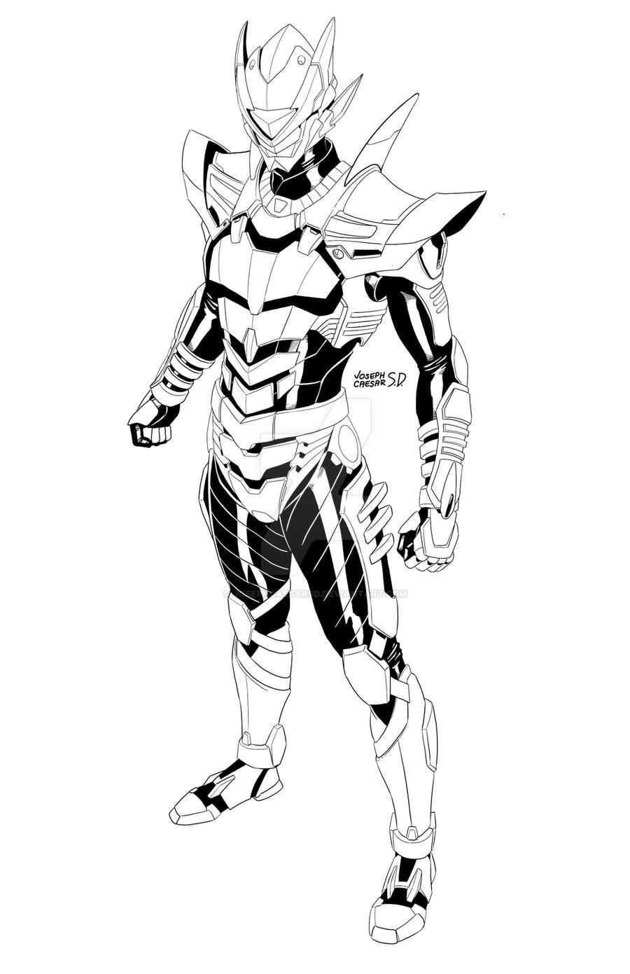 Tech Ninja 02 by josephcaesarsd