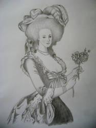 Marie Antoinette by arnellahobler