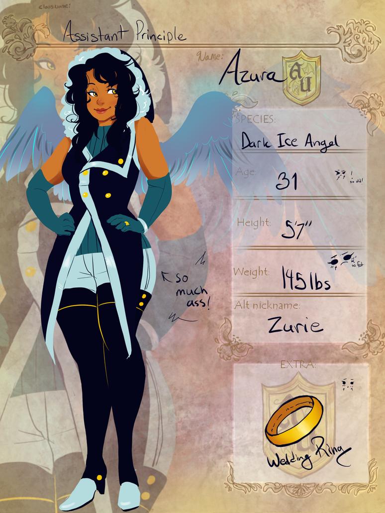 Azura AU app by Xuiology