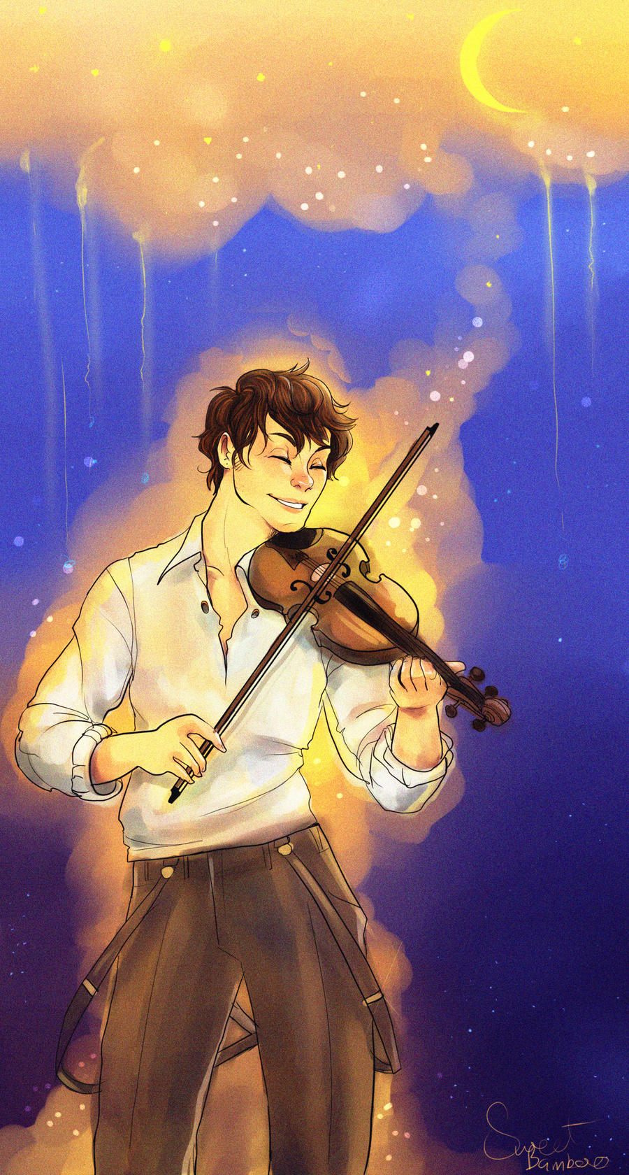 A fiddler for you by Xuiology