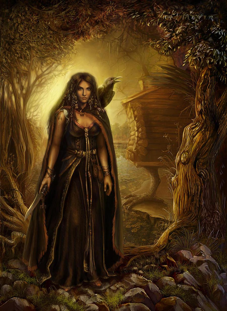 The Witch by ineska on DeviantArt