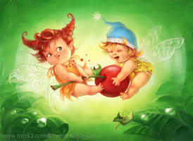 Little Elves by ines-ka