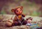 Ooak Teddy Doll Baby Bear Autor Toy Handmade Ines