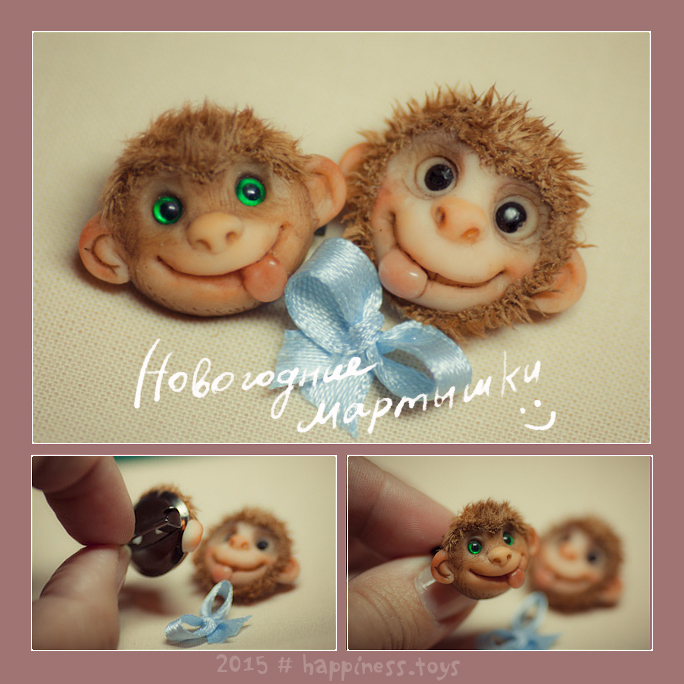 Monkey-2016-hapiness-toys by ines-ka