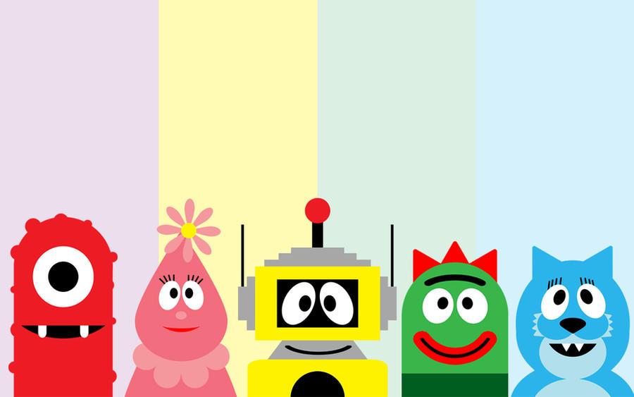 yo gabba gabba characters by djcandidout on deviantart rh djcandidout deviantart com