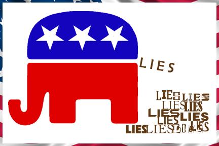 Republican Lies by DJCandiDout