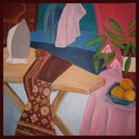 Ironing with Still Life