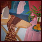 Ironing with Still Life