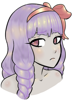Random Girl ( Hair Shading Practice )
