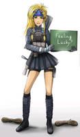 My Commission: DiDressphere Corporal Rikku
