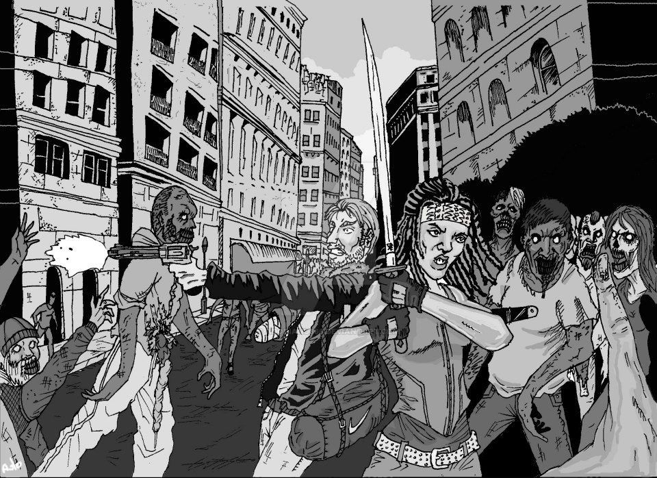 The Walking Dead by Adorianu666