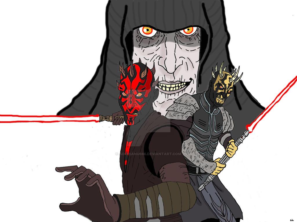 Darth Maul and Savage Opress Version 2 by Adorianu666