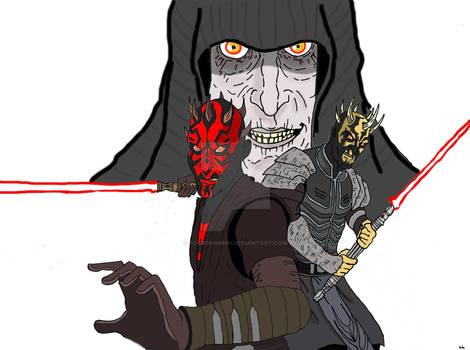 Darth Maul and Savage Opress Version 2
