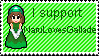 Gift and Stamp: Support NaruLovesGallade by V-P-aurore-star
