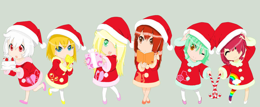 Base again: Group picture for Christmas! by V-P-aurore-star on ...