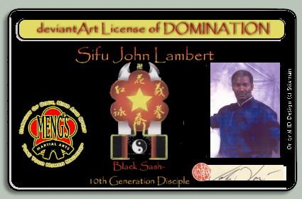 LOD:Sifu John Lambert by WingDiamond