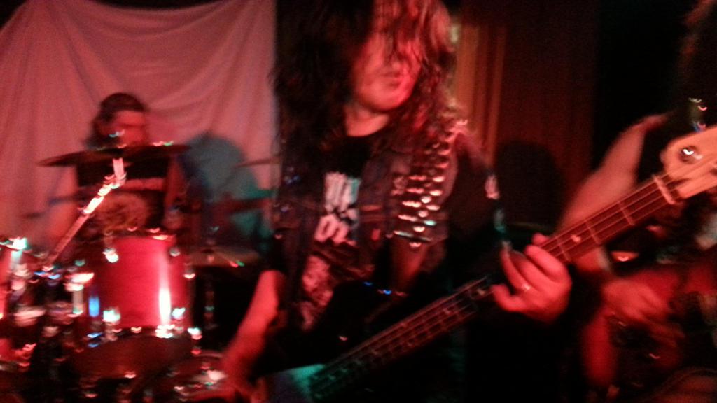 Toshi Tanaka-san On Bass Guitar