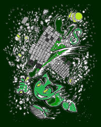 DA Green in TwoThousand Eighteen by WingDiamond
