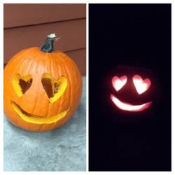 Love-y Eyes Pumpkin