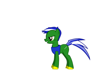 Omega Blade (Earth Pony) by DeviantMaster2014