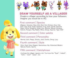 Create my Animals Crossing Villager