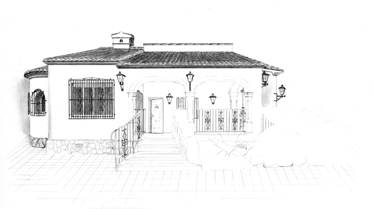 Spanish house 3 by van27