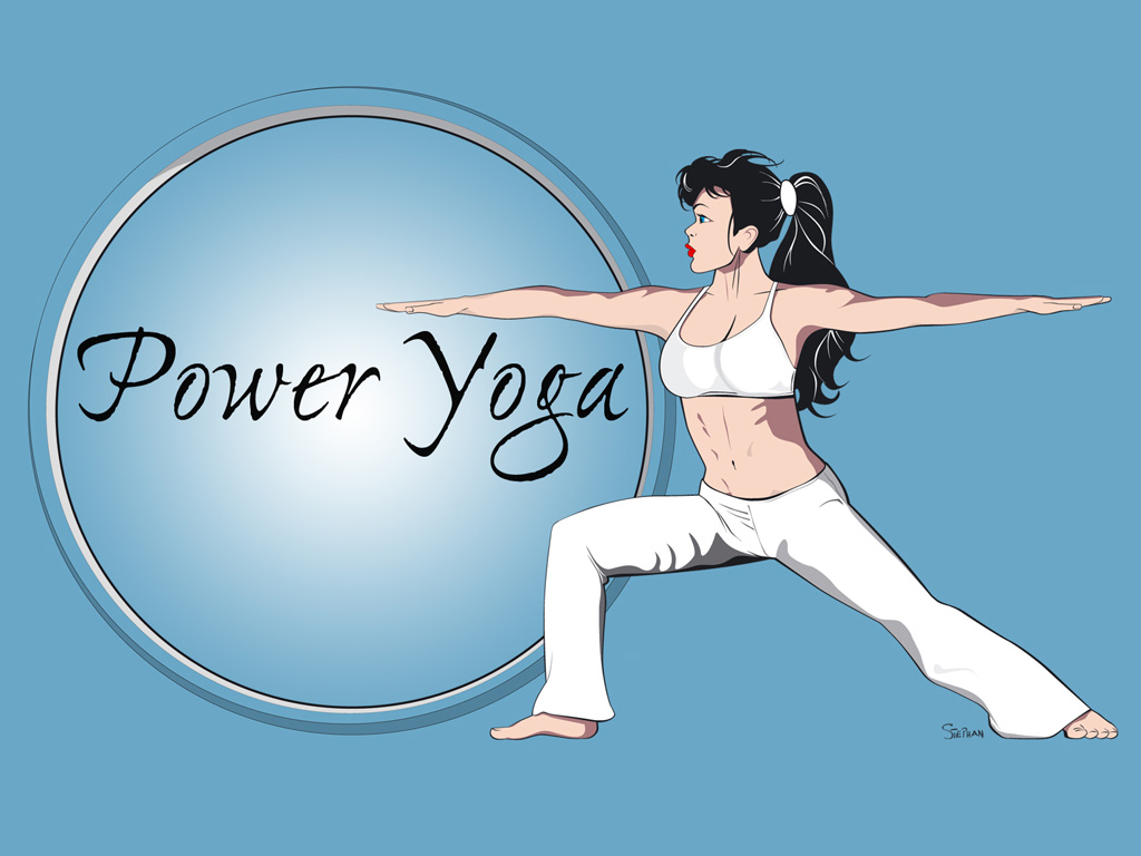 Power Yoga Warrior by van27