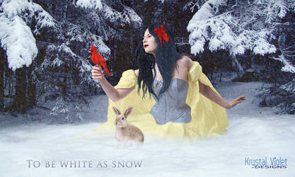 To be as White as Snow by KrystalVioletDesigns