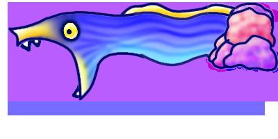 Ribbon Moray Eel Plz by cherubfish