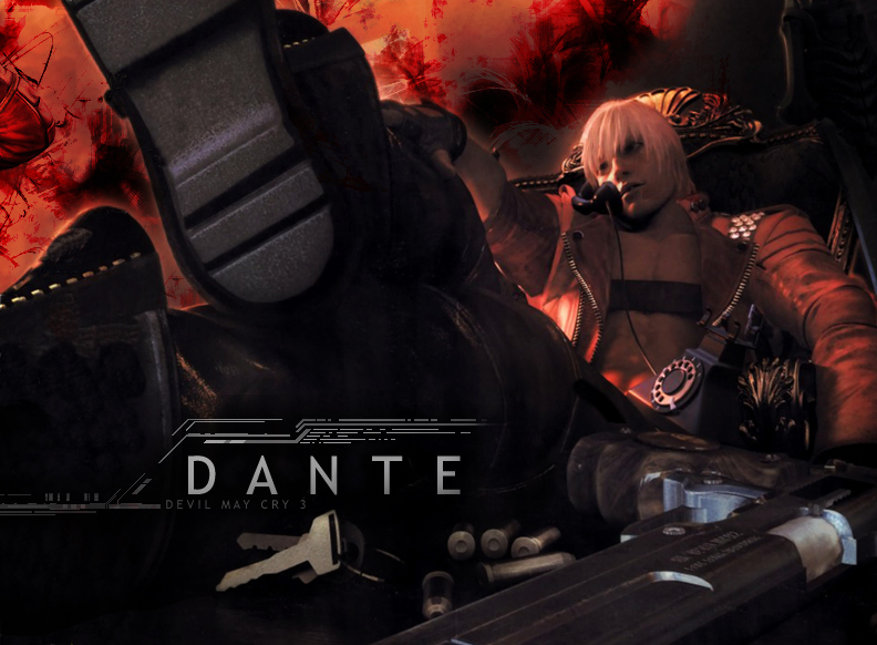 Devil May Cry 3 Dante By Xxjokerxx On Deviantart