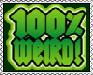 One Hundred Percent Stamp by AcidaliaAdrasteia