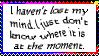 Lost My Mind Stamp by AcidaliaAdrasteia