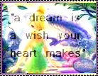 A Dream Is A Wish Stamp by AcidaliaAdrasteia