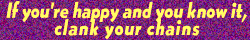 If Your Happy Stamp by AcidaliaAdrasteia