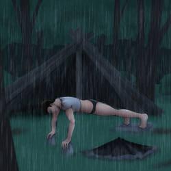 Sam's Forest Exile - Shelter