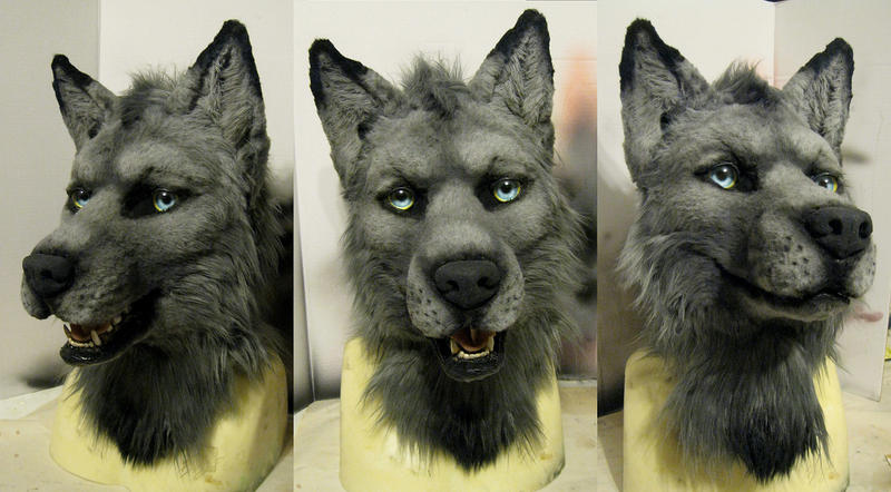 Aiden wolfe mask! :D by Crystumes