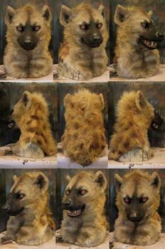 Realistic spotted hyena mask!